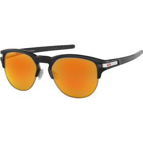Oakley Latch Key L Brillenglas, polished black ink/prizm ruby
